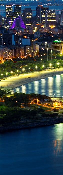 Aterro do Flamengo - Rio de Janeiro,Brazil is at the top of many travel bucket lists these days, due to the country's role as host to the recent soccer World Cup and the upcoming 2016 Olympic Games.
