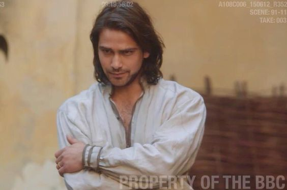 Lovely Luca from The Musketeers