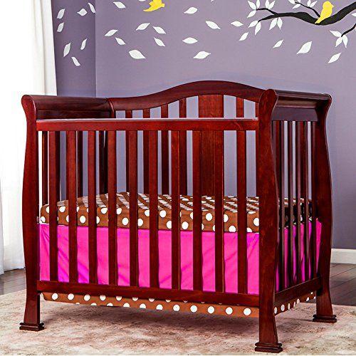 Dream On Me Naples 4 In 1 Convertible Mini Crib With Dream On Me 3 Portable Crib Mattress White Wall S Furniture Decor Mini Crib Cribs Mini Convertible