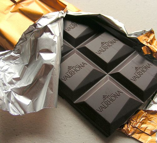 Valrhona dark chocolate