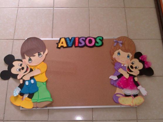 Decorado para aulas infantiles mural para avisos ideas for Murales para salones decoracion