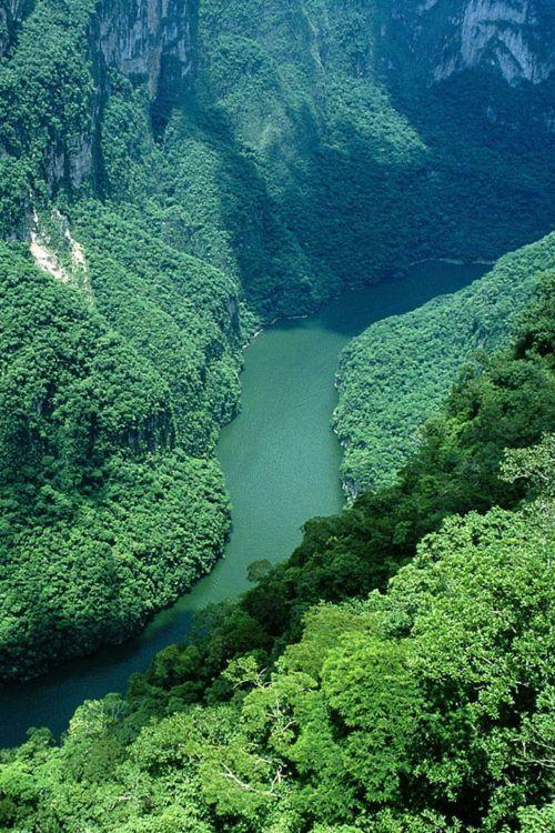Chapas de Corzo - Sumidero Canyon, MEXICO