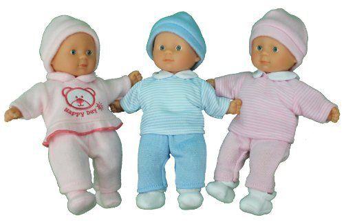 My Triplets Family 8 Look Alike Baby Dolls 2 Girls Amp 1