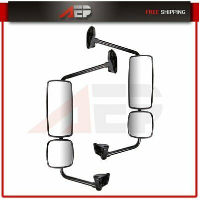 Sponsored Ebay Truck Mirrors Heated Chrome Mirrors Complete For 03 16 Freightliner Columbia M2 Truck Mirror Chrome Mirror Freightliner