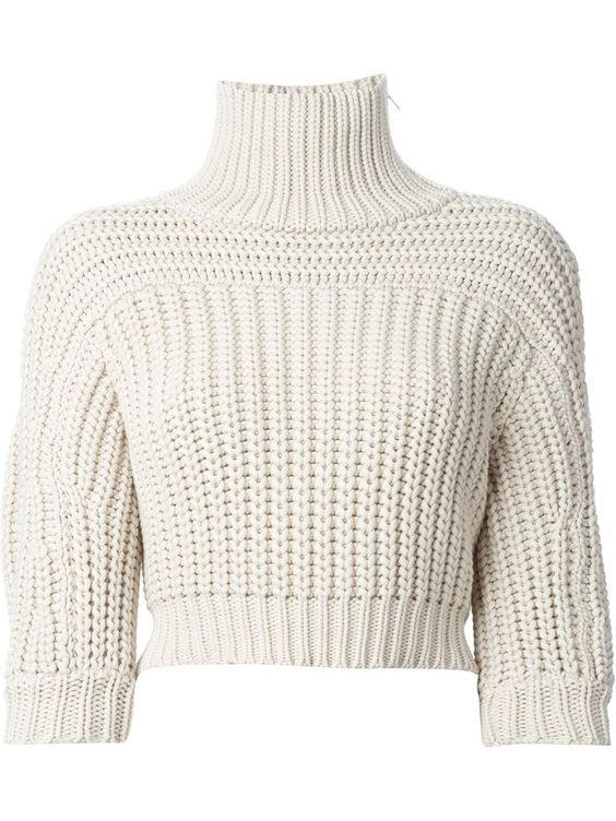 36 Cropped  Jumper To Copy Right Now outfit fashion casualoutfit fashiontrends
