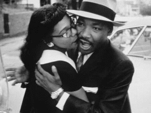Awwwww. Coretta S. King & her king, Dr. Martin Luther King,