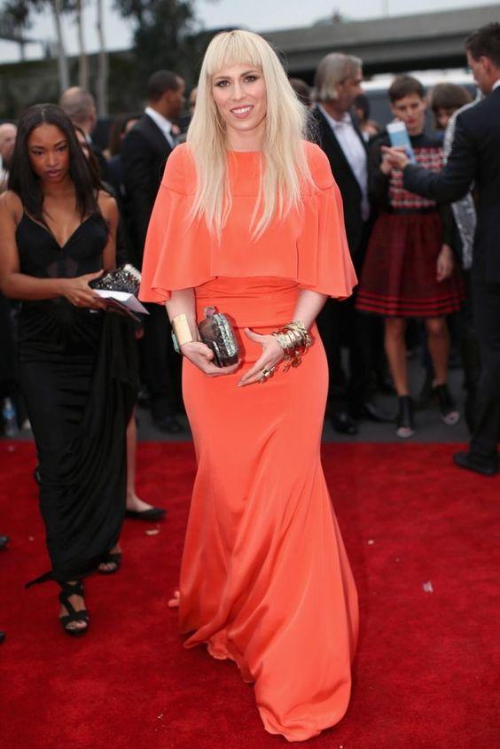 Natasha Bedingfield in Christian Siriano - 2014 Grammy Awards