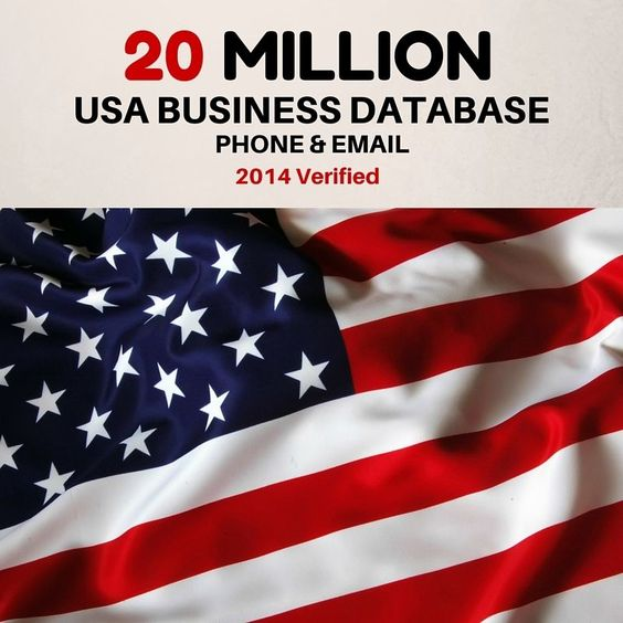 20 MILLION USA BUSINESS DATABASE / USA BUSINESS EMAIL List Manta 2014 Verified #Manta