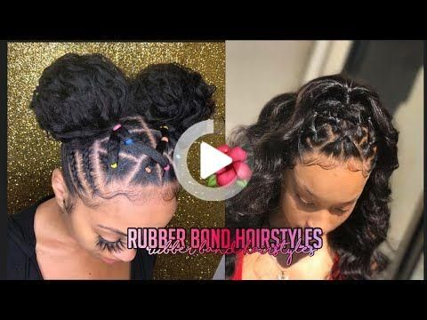 45+ Criss cross rubber band ponytail inspirations