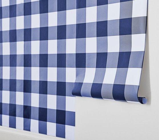Buffalo Check Peel Stick Wallpaper Peel And Stick Wallpaper Stick On Wallpaper Laundry Room Wallpaper