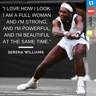 What are some quotes that others said about Serena Williams?