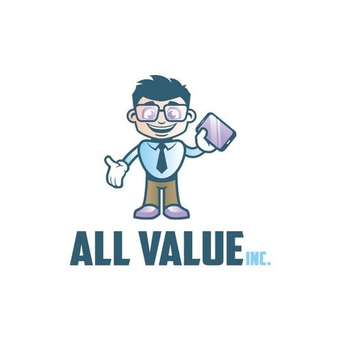 All Value Inc It Vendor Startup Offering Creative Freedom For Their New Logo R Business Cards Creative Business Cards Creative Templates Business Card Logo