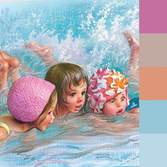 30 de abril, día del niño, niñas en el agua