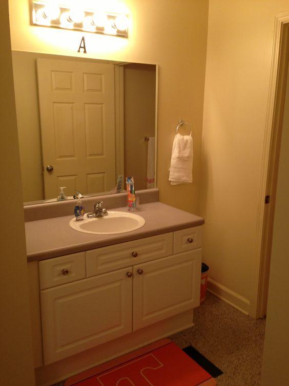 Volunteer Hall Apartment Bathroom Vanity Volunteer Hall Pinterest Bathr