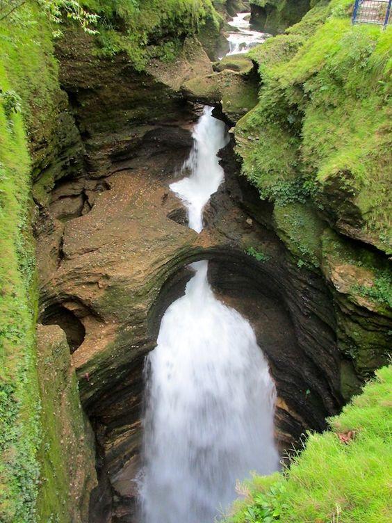 Gupteshwor Mahadev Cave Pokhara Nepal Waterfall: