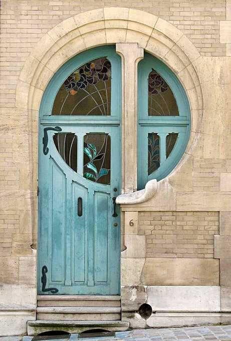 20 Antique Metal and Wood Exterior Doors Bringing Charm of Unique ...