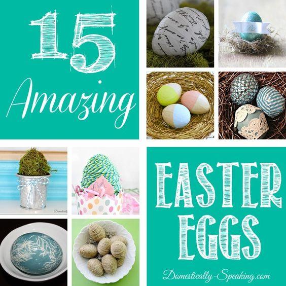 15 tolle Bastelideen mit Ostereiern
