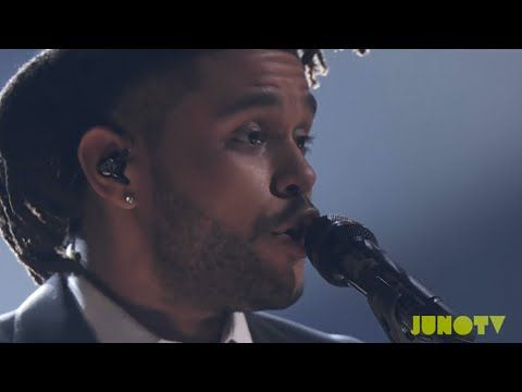 """The Weeknd """"Earned It"""" - Live at The 2015 JUNO Awards"""