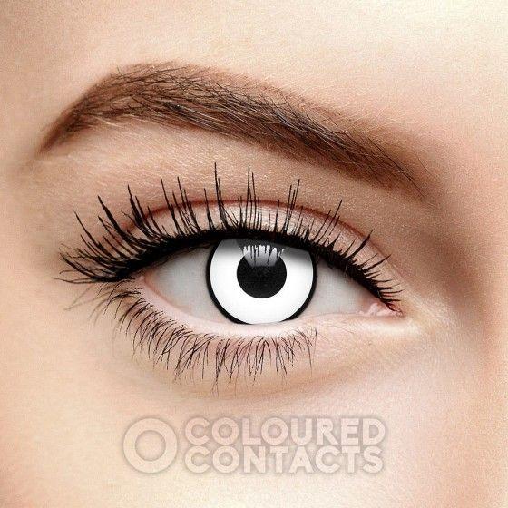 White Manson Halloween Colored Prescription Contact Lenses Zombie Halloween Contact Lenses Contact Lenses Colored Coloured Contact Lenses
