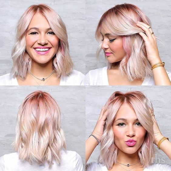 We have been holding on to this one for way too long. Janelle calls this bubble gum kisses which in usual Janelle fashion is the cutest most perfect name ever. And that color is just so absurdly good. Love it. ✂