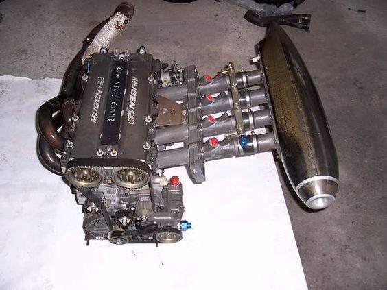 MF204 Mugen engine