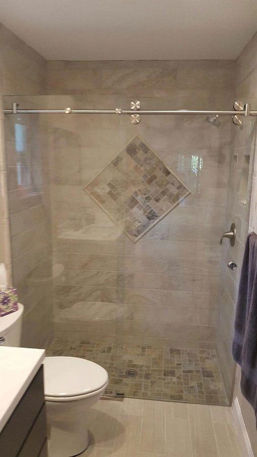 Custom Shower Door Photo Gallery Frameless Sliding Shower Doors