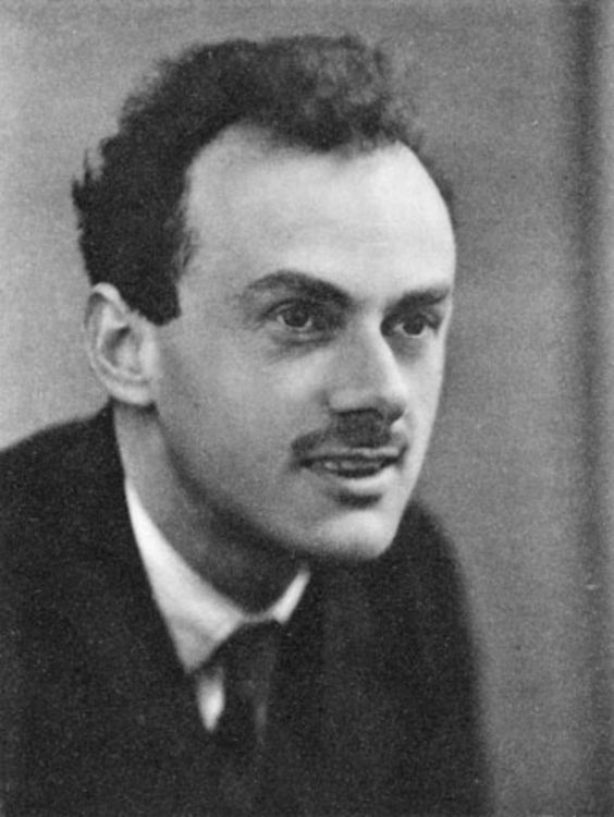 """""""The measure of greatness in a scientific idea is the extent to which it stimulates thought and opens up new lines of research."""" -- Paul Dirac (1902-1984)"""