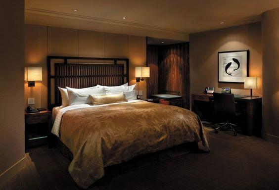 Shangri La Hotel Vancouver Vancouver Canada Ultra King Bed