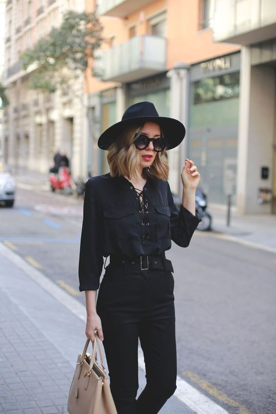 Inspirational Black Outfits