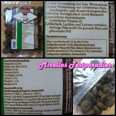 Boswelia Tiernahrung Lamm & Reis Trockenfutter für Hunde.