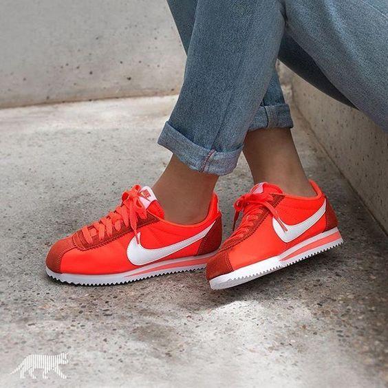 size 40 75c7a ceca3 ... Nike Cortez OG Nylon Gym Red (rouge) Style Pinterest Nike cortez, ...