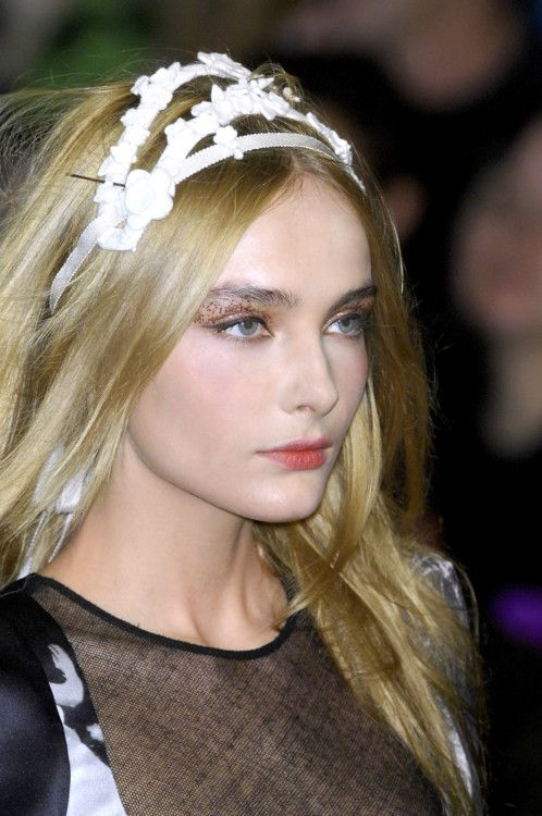 Snejana at Sonia Rykiel Fall 2008