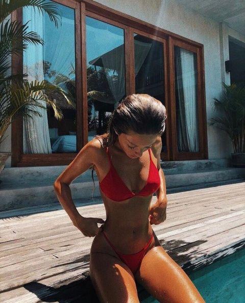 Pin Insta Lexievicchio Summer Photos Model Body Bikinis