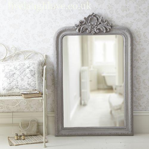 large white antique shabby chic ornate mirror new 7ft x 5ft 213cm x 152cm home sweet pinterest ornate mirror large white pig and shabby chic
