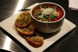 Tomato & Basil Soup with Tortellini