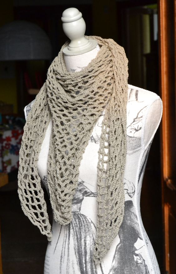 Tutorial - Super Easy Kefiah - Crochet www ...