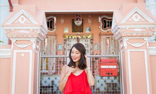 Những Shophouse là nơi lý tưởng để lưu lại những bức ảnh kỷ niệm khi đến Katong.