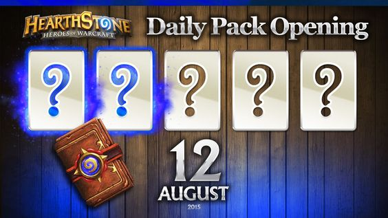 2 Rare Hearthstone Cards! Hearthstone Packs Opening Daily, Aug 12