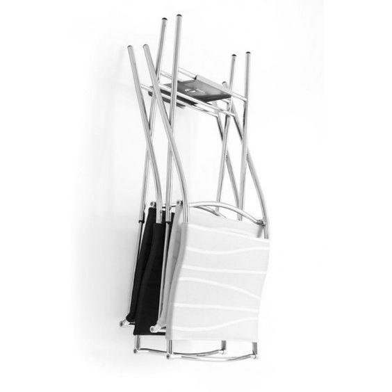 Gancio per appendere sedie pieghevoli Calligaris Flat | Calligaris ...
