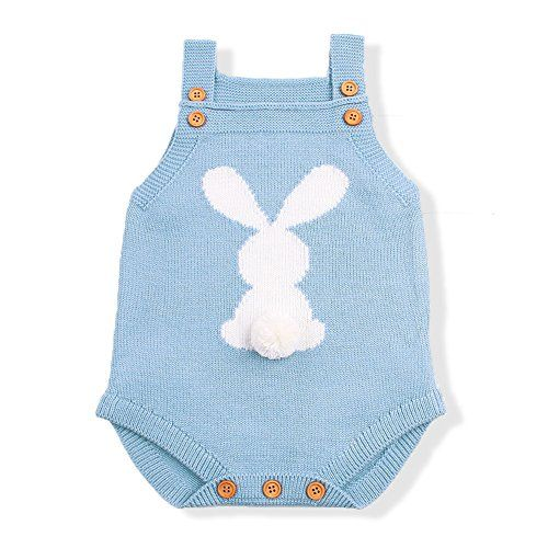 mimixiong Baby Girl Romper Toddler Knit Jumpsuit Sweater