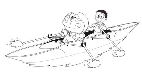 Happy Doraemon 1 Coloring Page Free Coloring Pages Online Doraemon Coloring Pages Free Printable Coloring Pages