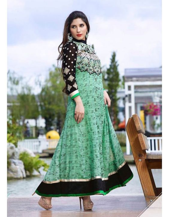 Image result for Magical Anarkali Suits With Combination Of Long Kurta Fitted