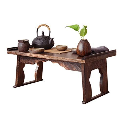 End Tables Bed Table Solid Wood Bay Window Table Coffee Table Household Tatami Desk Bed Study Table Balcony Desk Retro Low Table Bed Table Fo Window Table Bed Table Low Tables