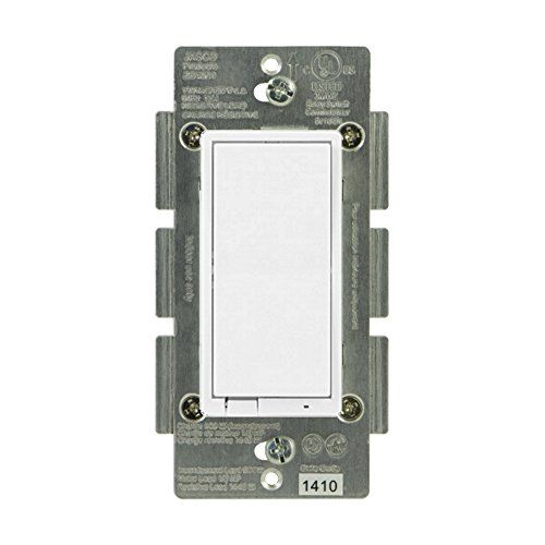 Ge 45857gr Zigbee In Wall Smart Dimmer Switch Led And Cfl Compatible With Energy Monitoring And Ha1 2 Certification Home Automation Home Automation System Security Cameras For Home