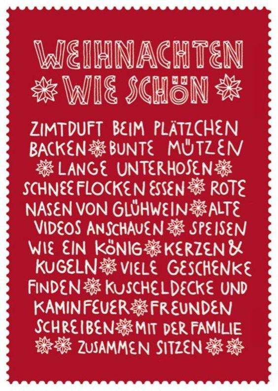 Postkarte Weihnachten  // postcard christmas via dawanda.com