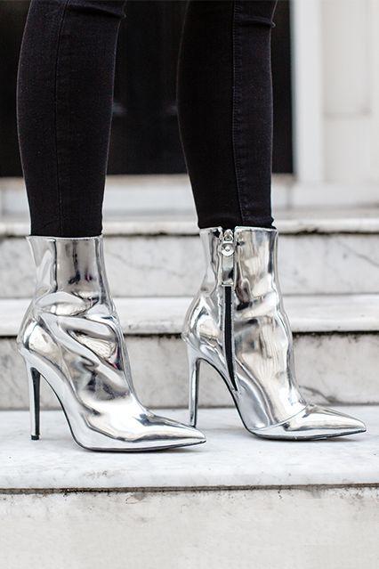 Trend Report: Liquid Silver Boots