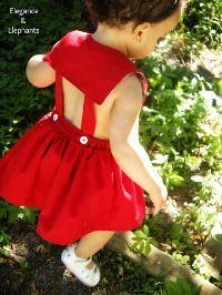 Tutorial: Bayern Sundress for little girls