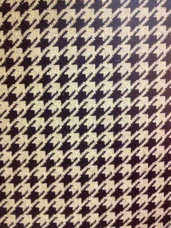 Preston houndstooth patterned wool carpet offered as wall for Patterned wall to wall carpeting