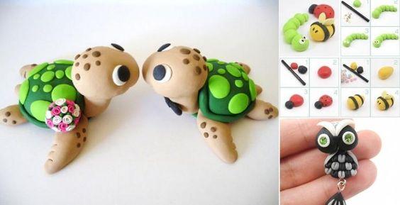 40 Adorables modèles et tutoriels de petits personnages... À modeler!