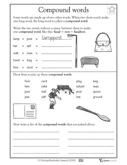 one little word writing activity for 2nd
